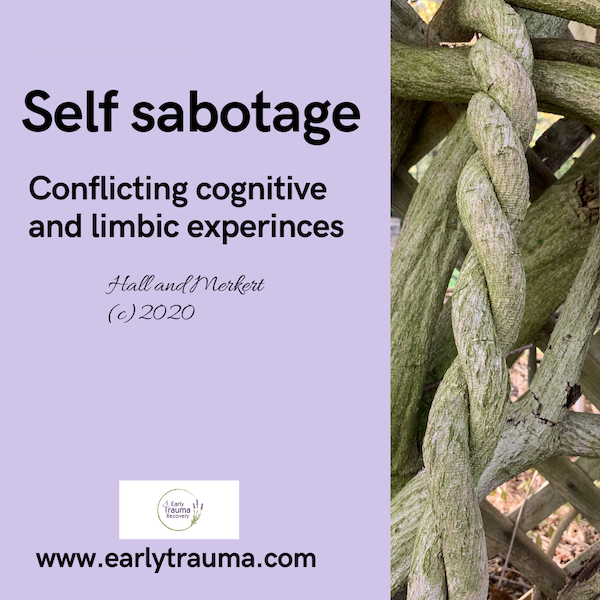 SELF-SABOTAGE-CONFLICTING COGNITIVE AND LIMBIC EXPERIENCES