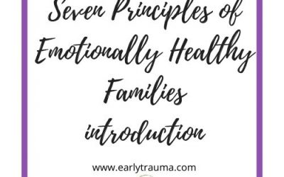Introduction to the Seven Principles of Emotionally Healthy Families